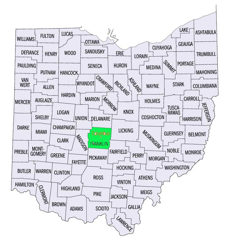FileOHFranklinjpg GAMEO - Franklin on us map