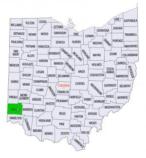 Butler County Ohio Usa Gameo