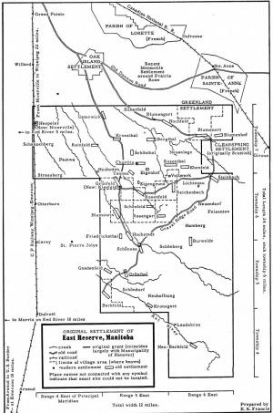 Worksheet. East Reserve Manitoba Canada  GAMEO