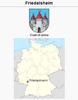 Friedelsheim Rheinland Pfalz Germany Gameo