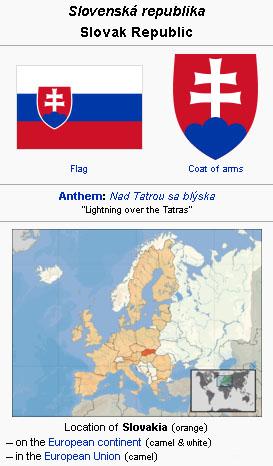 Slovakia - GAMEO