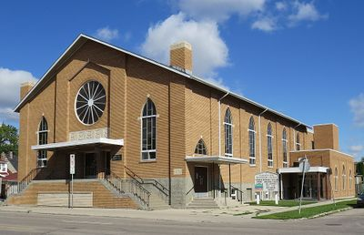 Sargent Avenue Mennonite Church (Winnipeg, Manitoba, Canada